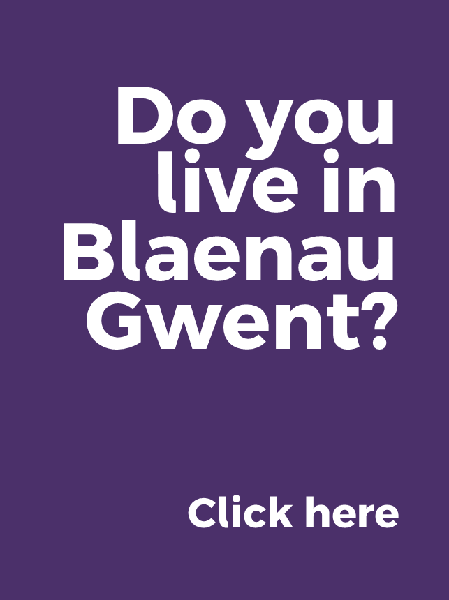 Great news if you live in Blaenau Gwent - click to find out more.