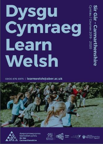 Learn Welsh Carmarthenshire  brochure download