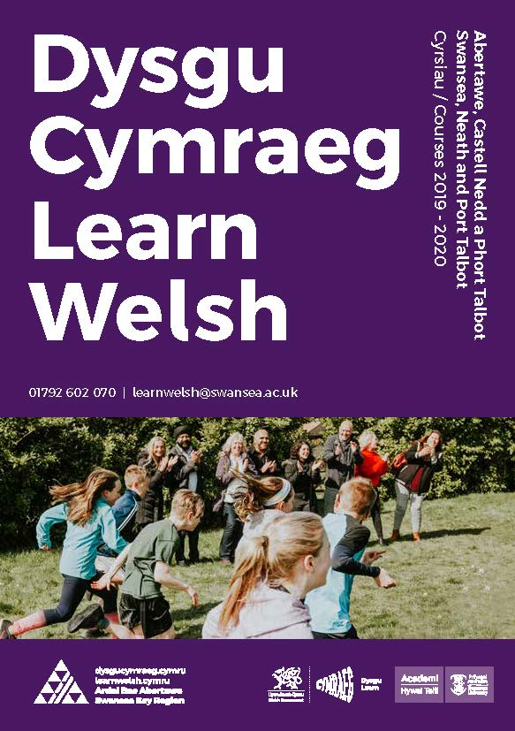 Learn Welsh Swansea Bay Region brochure download