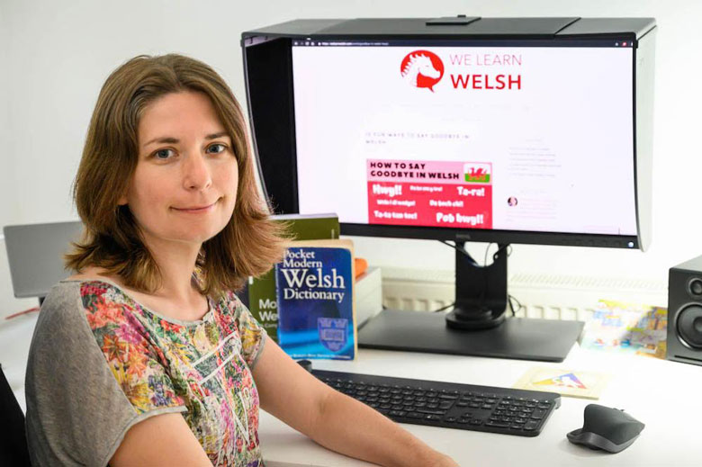 Get to know the person behind brand new website, We Learn Welsh